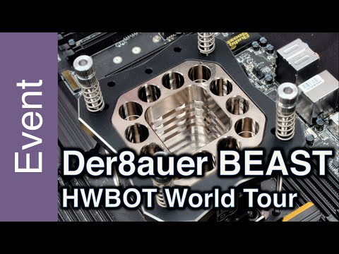 Know everything about the BEAST CPU Pot by der8auerECC - HWBOT World Tour 2015
