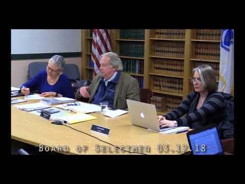 Board of Selectmen 03.12.18