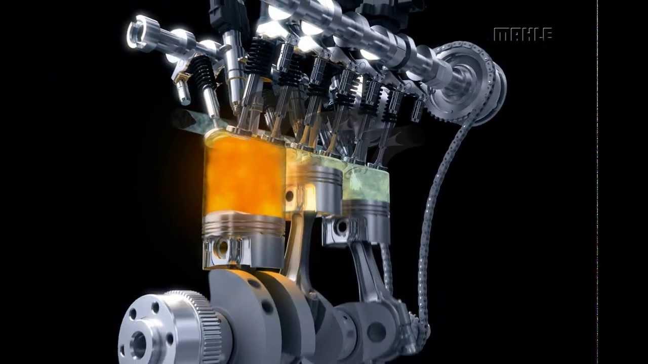 MAHLE Downsizing Engine with pendulum-slider oil pump ...