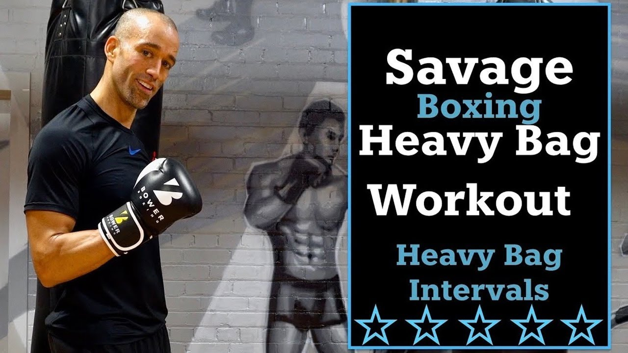 30 Minute Savage Boxing Heavy Bag