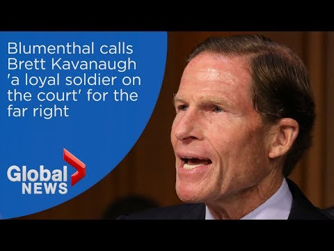 Sen. Richard Blumenthal calls Trump SCOTUS nominee 'a loyal soldier on the court' for the far right