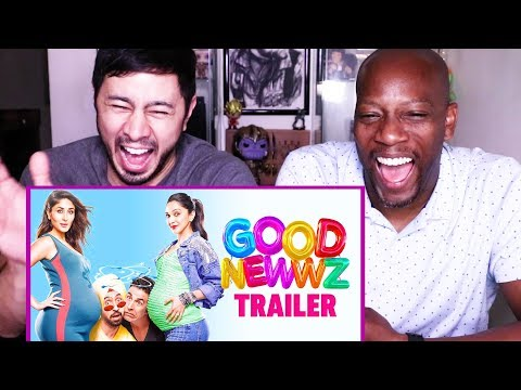 GOOD NEWWZ | Akshay Kumar | Kareena Kapoor Khan | Diljit Dosanjh | Kiana Advani | Trailer Reaction