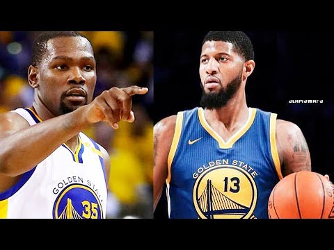 Kevin Durant Tells Paul George to Join Warriors and Leave Russell Westbrook and The Thunder
