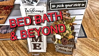 Bed bath and beyond fall decor 2019 • cute finds
