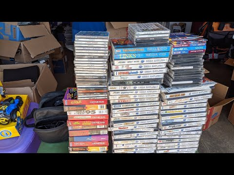 The GREATEST Sega collection I've ever seen showed up at my doorstep! from YouTube · Duration:  33 minutes 51 seconds