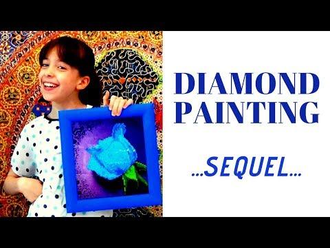 Diamond Painting...THE SEQUEL...Quadri Finiti!!