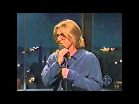 Mitch Hedberg on The Late Late Show w/ Craig Kilborn, April 1999