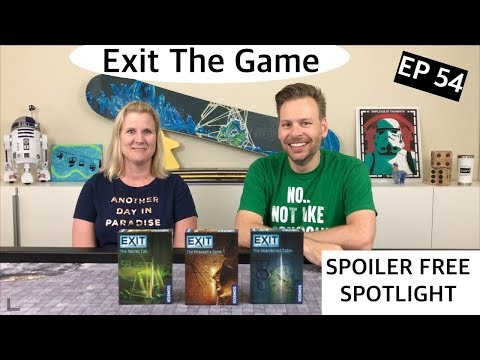 Exit: The Game Review -  Ep 54: This Week in Board Games