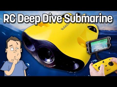 Gladius Mini 4K RC Submarine GOES REALLY DEEP In Fresh & Salt Water!