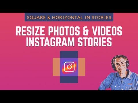 218: Instagram Stories Update: Resize Square & Horizontal