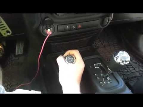HOW TO TAKE REMOVE OR TAKE A PART CENTER CONSOLE JK JEEP WRANGLER SPORT