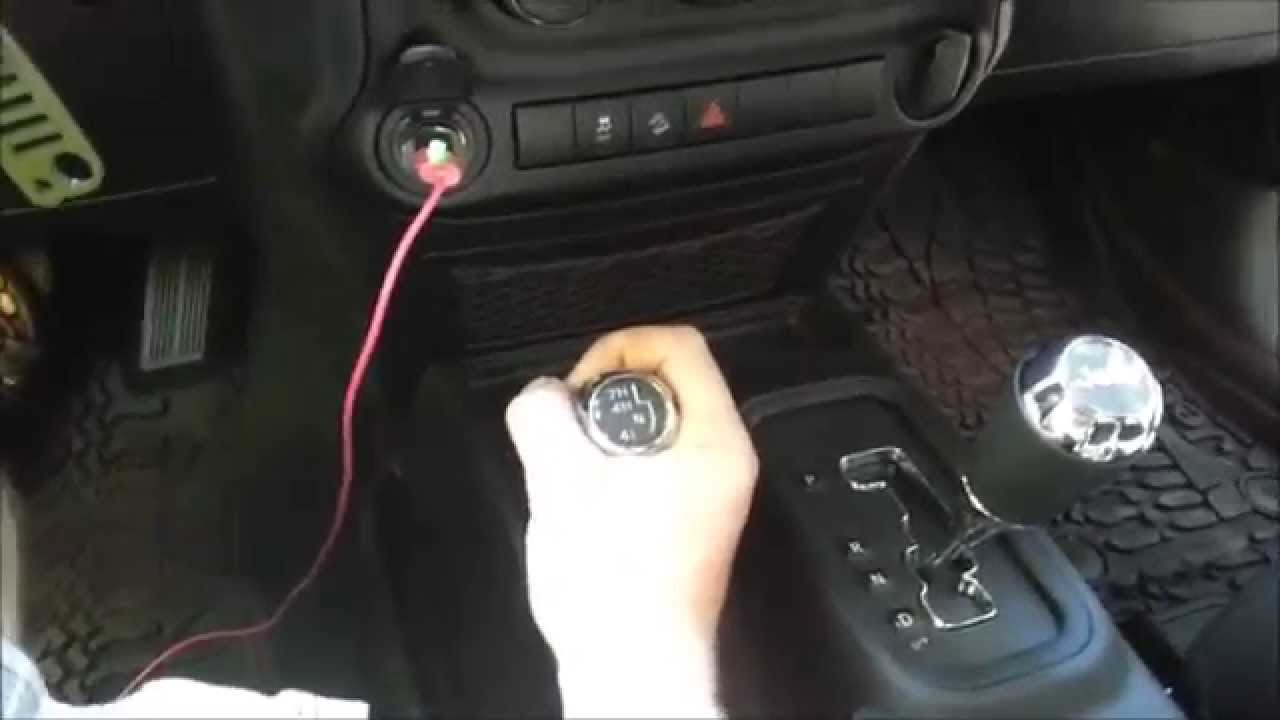 How To Take Remove Or A Part Center Console Jk Jeep Wrangler Cj7 Dash Wiring For Lights Sport