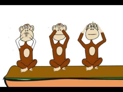 Three Wise Monkeys Toon Boom animation (work in progress.