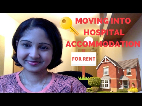 I MOVED! |MY THOUGHTS ON HOSPITAL ACCOMMODATION🏠🔑💕