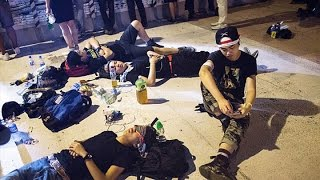 Hong Kong Protesters Threaten Resignation Deadline Action