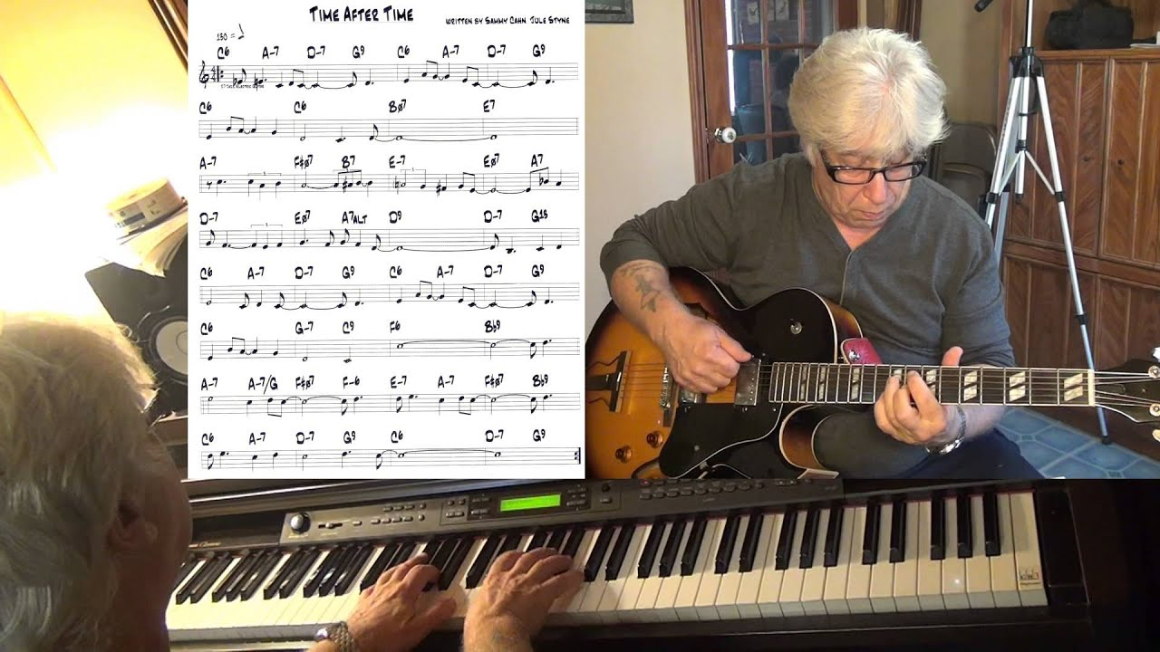 Time After Time Guitar Piano Jazz Cover Yvan Jacques Youtube