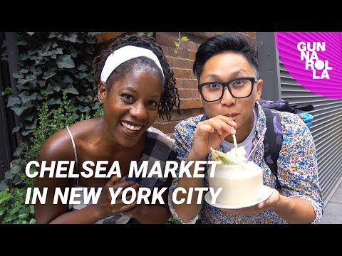 Where To Eat In New York City: Chelsea Market | ft. Oneika The Traveller