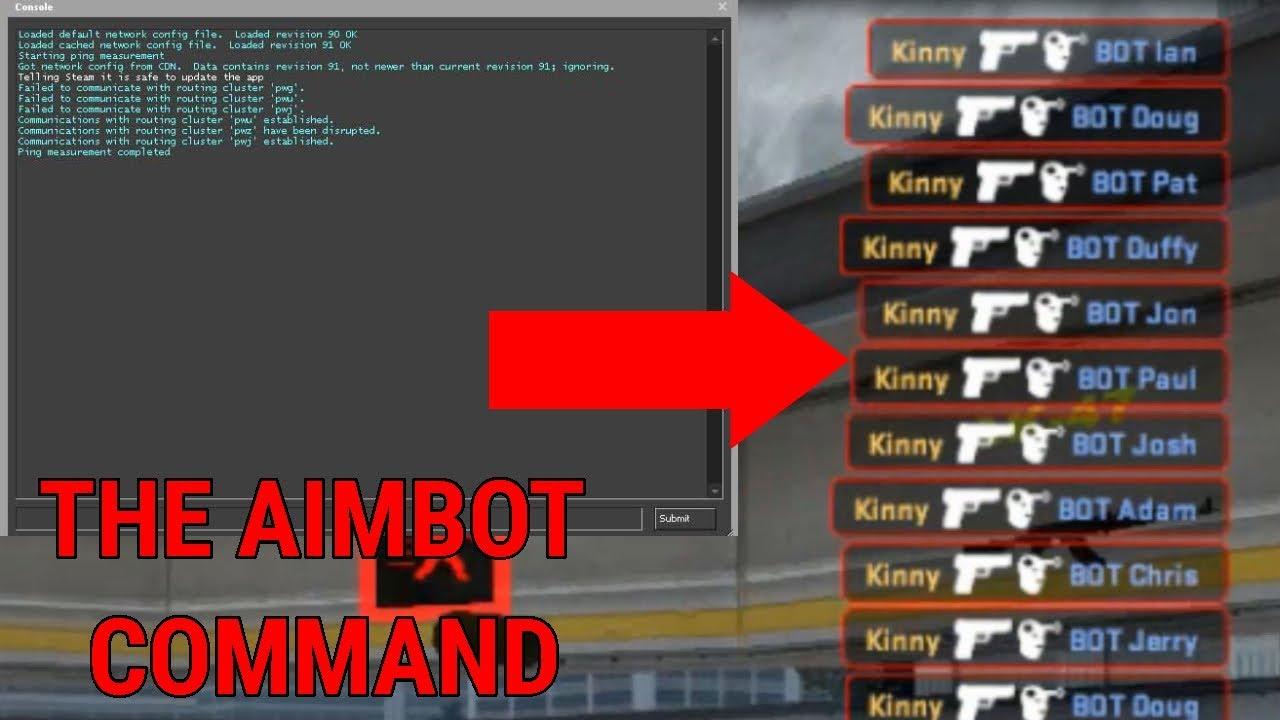 [CSGO] The Aimbot Command!