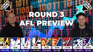 WATOs Previews AFL Round 3