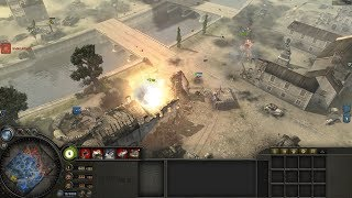 Multiplayer VS 3 Expert AI - Company Of Heroes - Europe At War