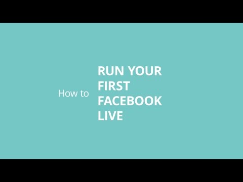 How to Run Your First Facebook Live