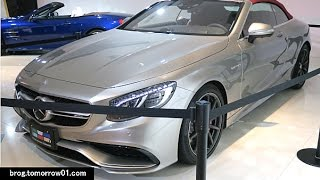 Mercedes-Benz S63 AMG 4Matic Cabriolet Edition 130 2016 Videos