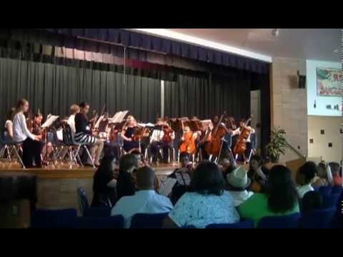 Shelton Park Elementary School Strings Concert May 2013