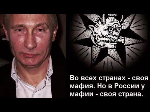 Во всех странах своя мафия, у путинской мафии вся страна...