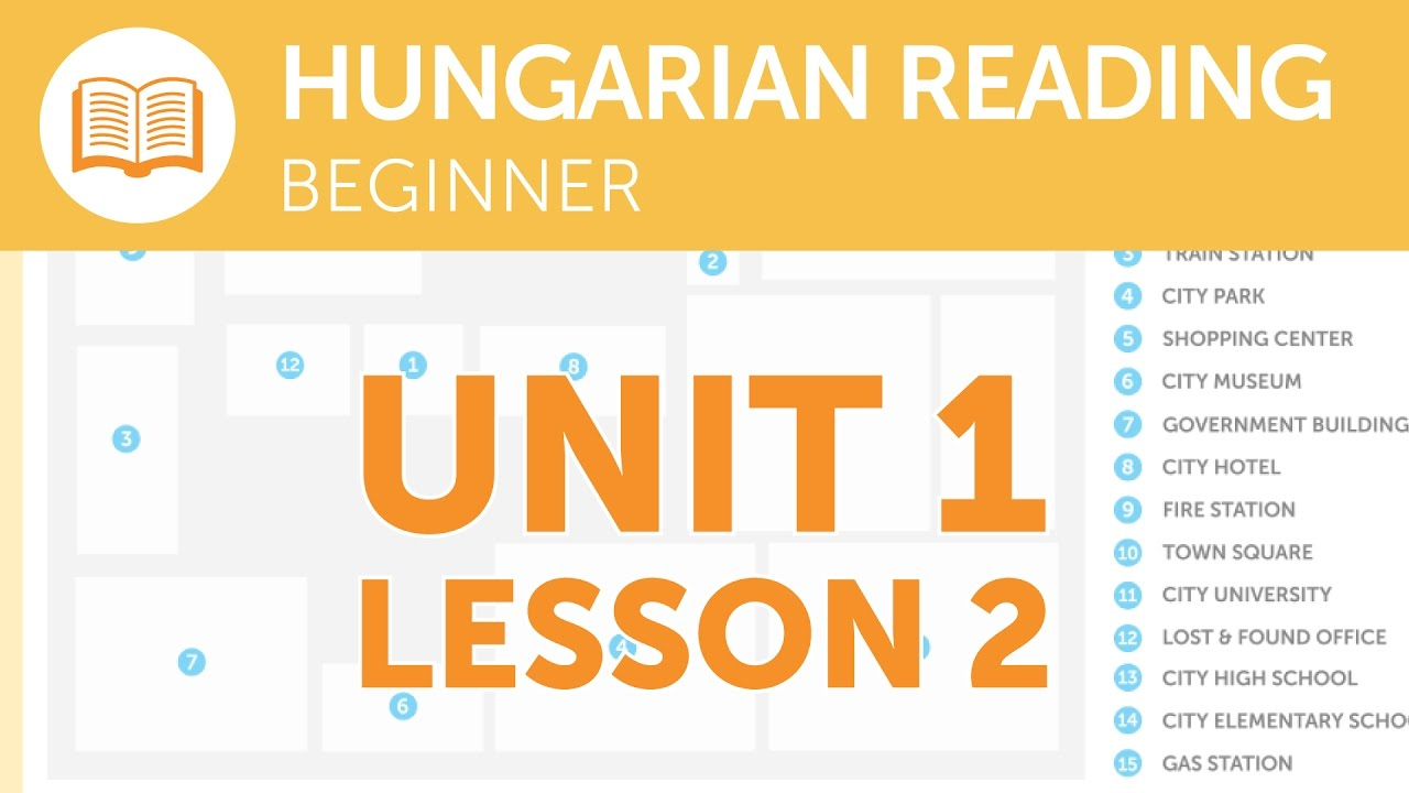 Hungarian Reading for Beginners - Reporting a Lost Item at the Station