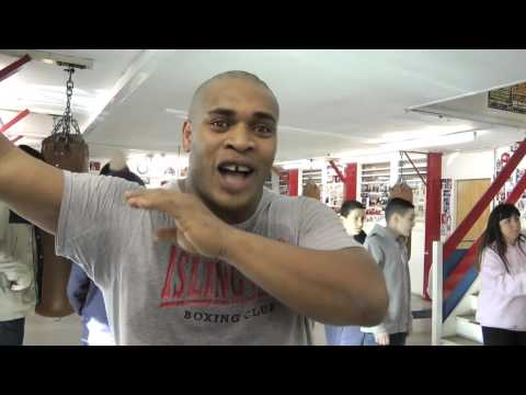 Boxing coach on Chessboxing - Anthony Wright
