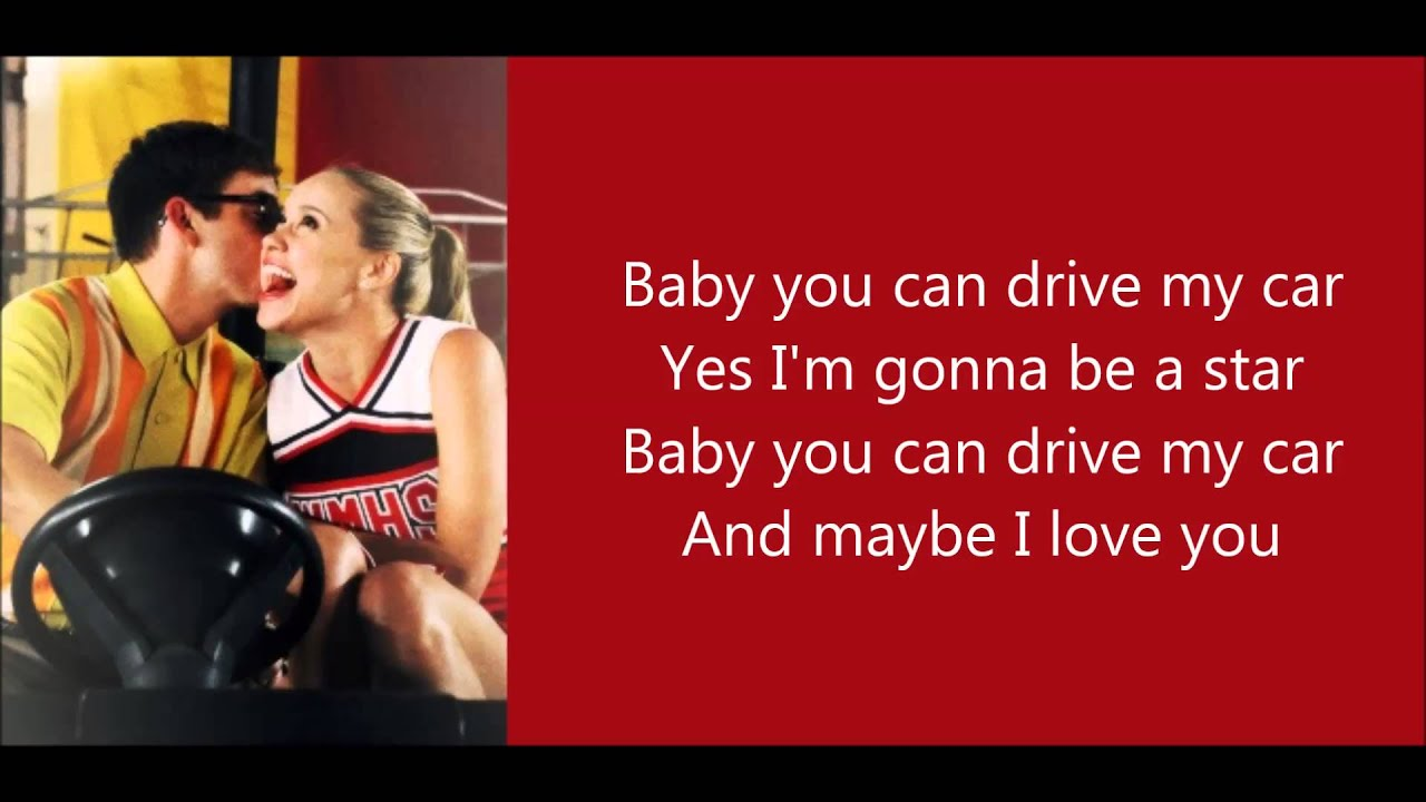 Lyrics You Can Drive My Car