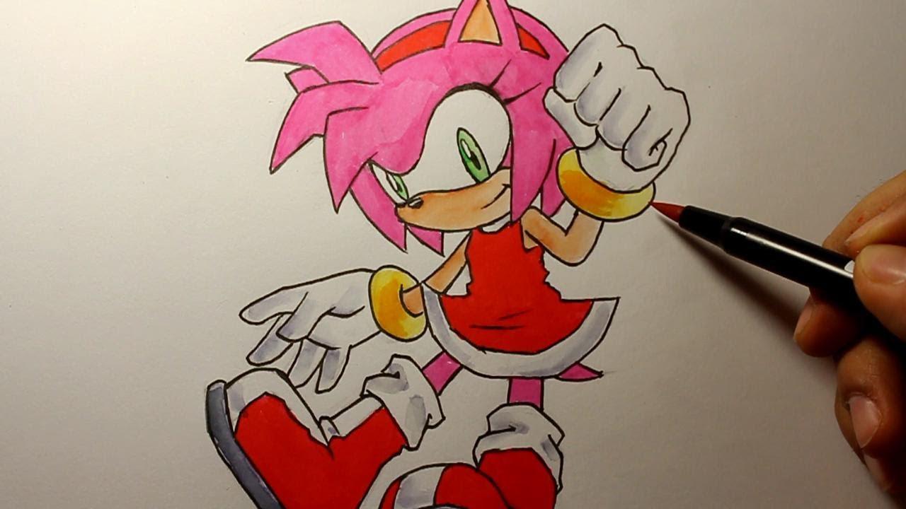 sonic zeichnen
