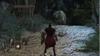 Dark Souls II - Gold Pine Resin + Stone Ring in Things Betwixt