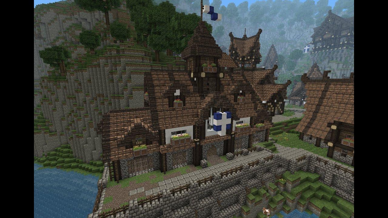 Minecraft Medieval Town Hall