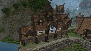 Medieval Minecraft Town Hall