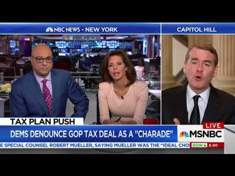 Sen. Michael Bennet MSNBC Interview on GOP Tax Bill