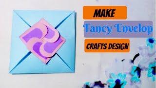 How To Make Simple Paper Envelop || DIY Simple Paper Envelop Tutorial || Crafts Design