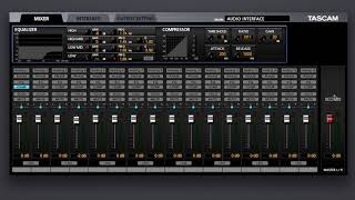 Tascam US-16x08 + Software