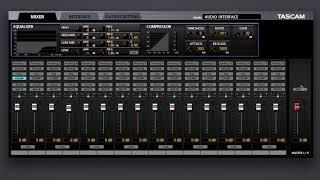 Tascam US-16x08 + Software