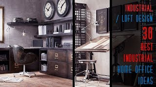An industrial-style interior design is always special because it has a very unique look and atmosphere. this style that doesn't suit all the rooms of ...