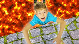 The Floor is Lava + more Best Video for Kids