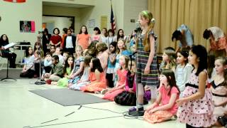 TEC 4th Grade Chorus 2012 - Thunder / How Beautiful is the Rain!