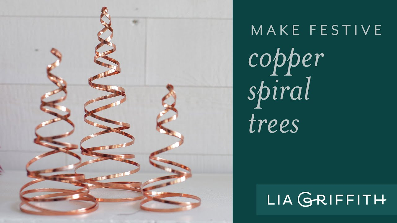 how to make a copper christmas decoration