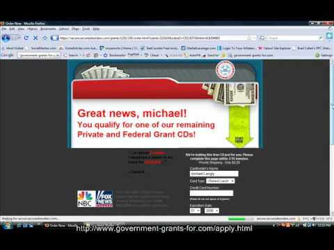 how to apply for government grants - YouTube