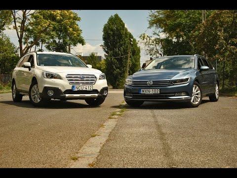 SUBARU Outback és Volkswagen Passat: Több mint testőr!