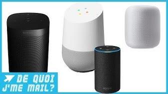 Amazon, Apple, Google, Sonos : quelle est la meilleure enceinte connectée ?  DQJMM (2/2)