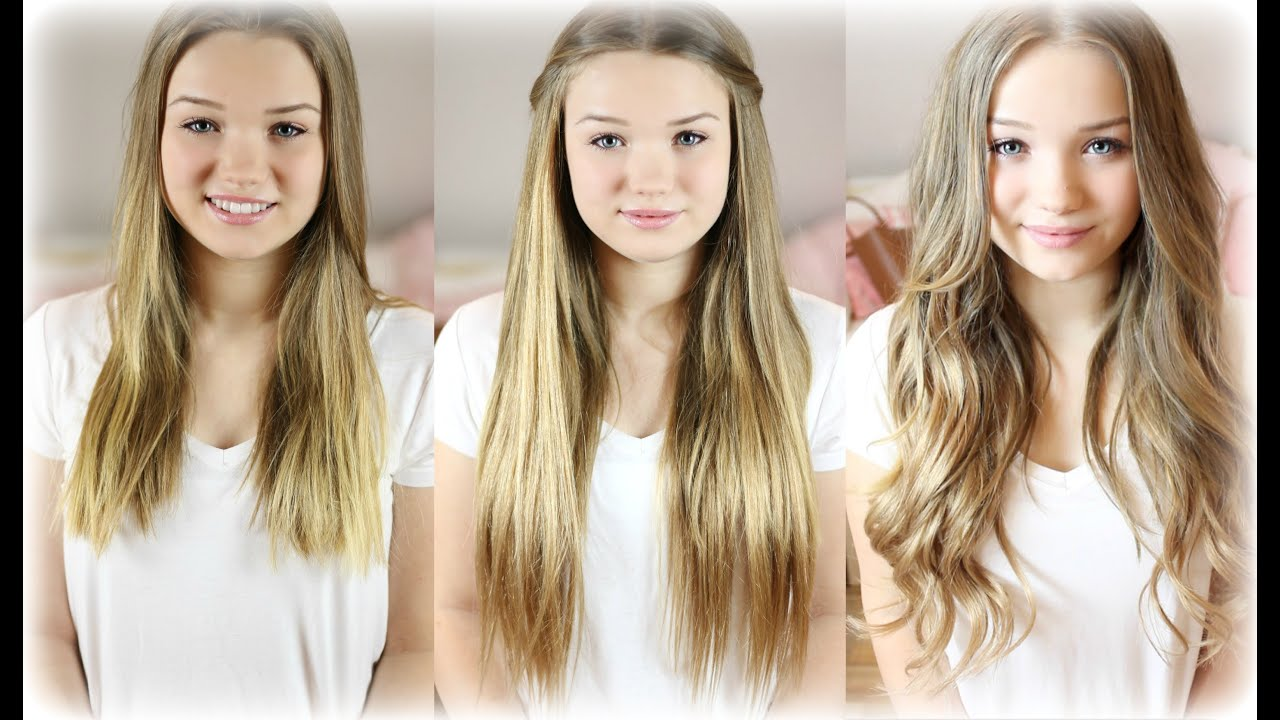 EXTENSIONS Haare Verstecken Frisuren & How To Locahair YouTube