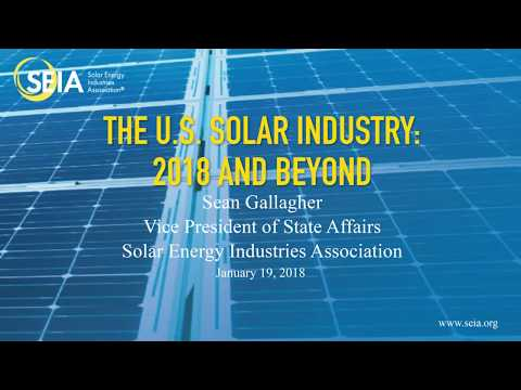 Sean Gallagher - 2018 Renewable Energy Summit
