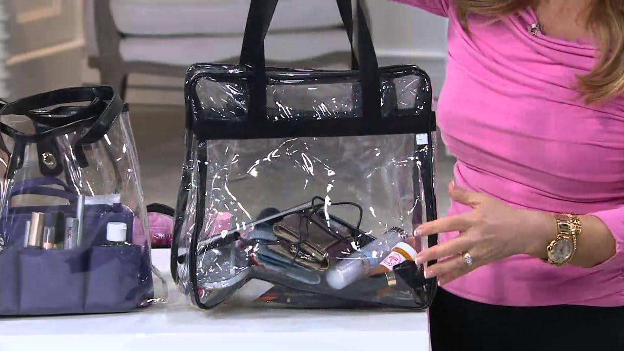c627fd4f30 Ready Set Go Bag Organizer by Lori Greiner on QVC - YouTube