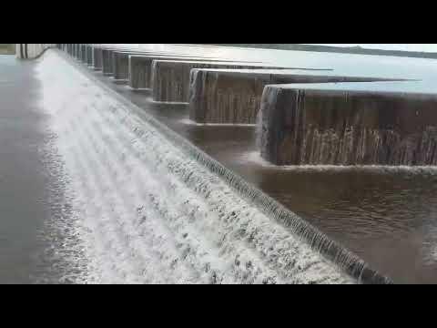 Barragem do Cocó, sangra ao atingir volume máximo